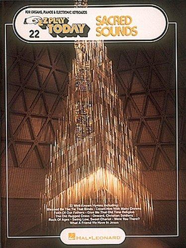 9780793505333: Sacred Sounds: E-Z Play Today Volume 22