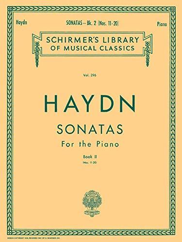 9780793507702: Franz Joseph Haydn: Twenty Piano Sonatas Book 2 (Nos. 11-20) Piano