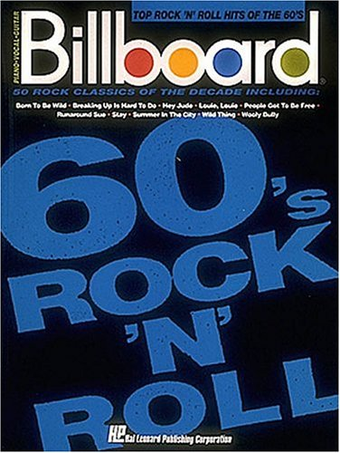 9780793508310: Billboard Top Rock 'n' Roll Hits Of The 60's (Piano-Vocal-Guitar Series)