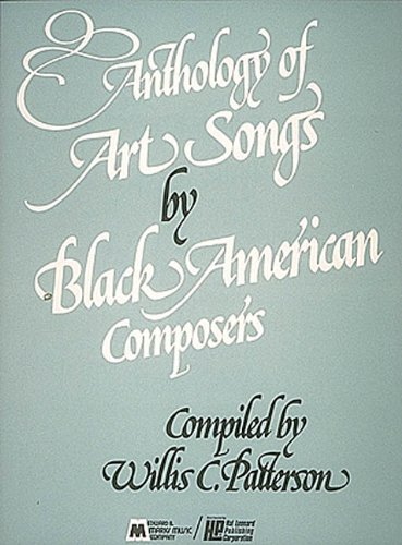 9780793508716: Anthology of Art Songs by Black American Composers: Voice and Piano