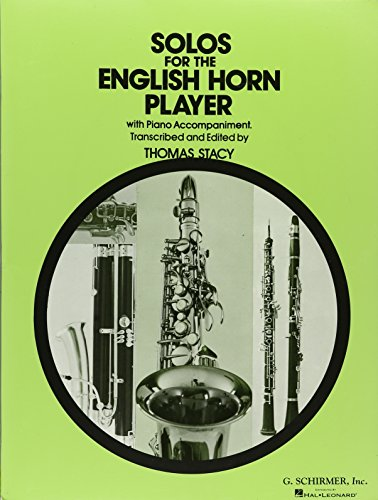 9780793508723: Solos for the English Horn Player with Piano Accompaniment