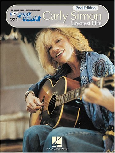 9780793508754: Carly Simon - Greatest Hits: E-Z Play Today Volume 221