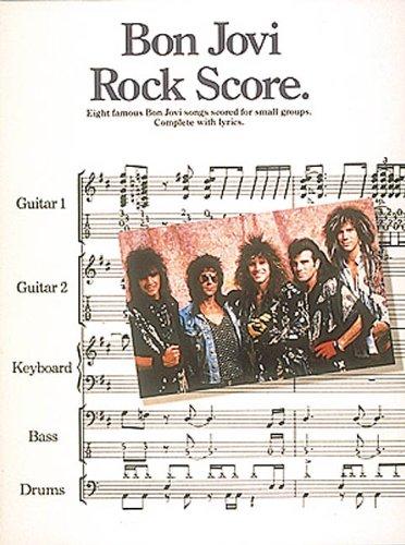 9780793508778: Bon Jovi - Rock Score*