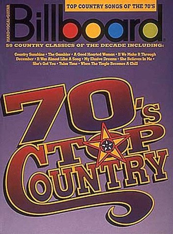 9780793509478: Billboard Top Country Songs Of The 70's