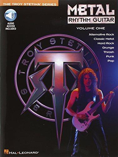 9780793509584: Metal Rhythm Guitar Vol. 1 (Troy Stetina)