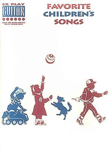9780793510023: Favorite Children's Songs (E-Z Play Guitar)