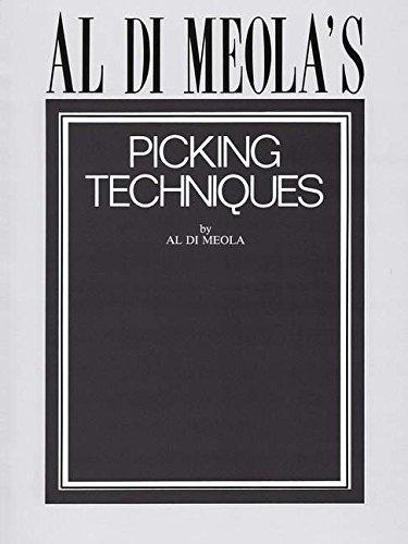 9780793510184: Al Di Meola's Picking Techniques