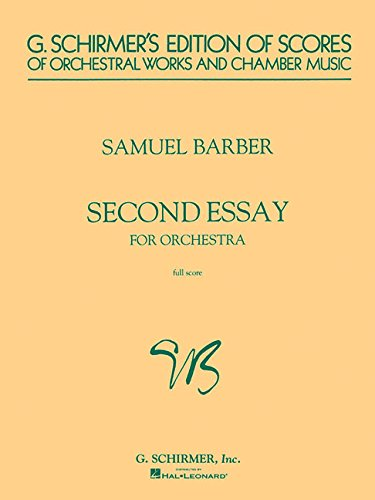 9780793510207: Second Essay for Orchestra: Study Score (G. Schirmer's Edition of Scores of Orchestral Works and Chamber Music)