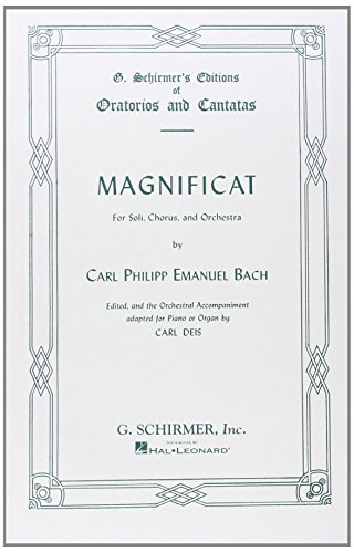 Magnificat for Soli, Chorus, and Orchestra.: Carl Philipp Emanuel