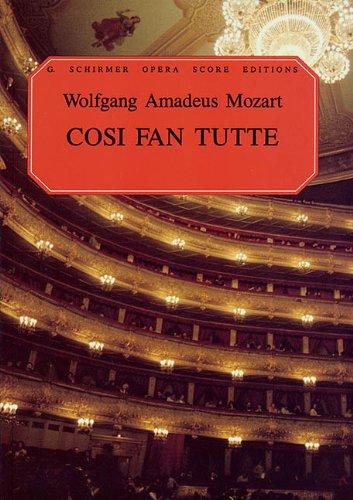 9780793511761: W.A. Mozart: Cosi Fan Tutte (Vocal Score)