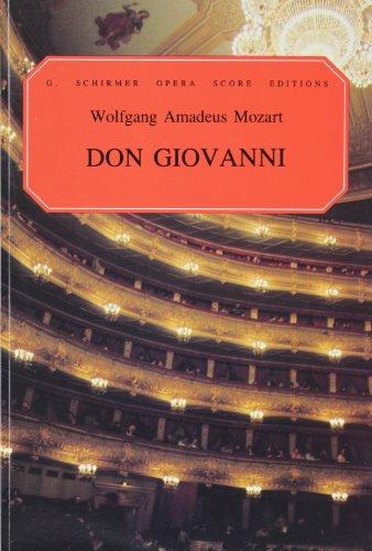 9780793512317: Don Giovanni Paper Italian English Vocal Score
