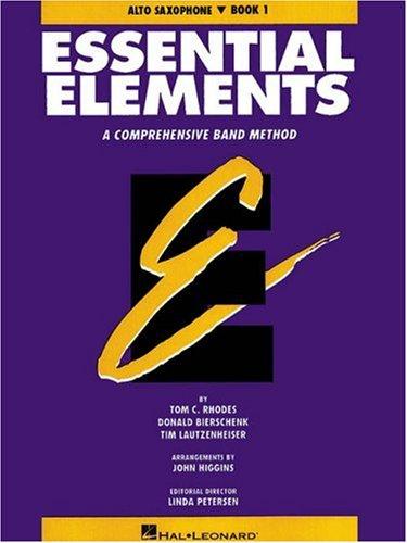 9780793512560: Essential Elements E Flat Alto Saxophone Book 1