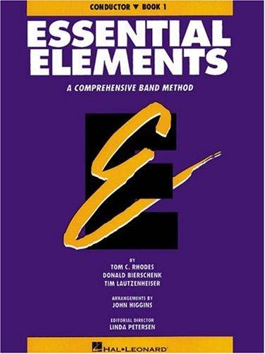 9780793512676: ESSENTIAL ELEMENTS BOOK 1 - ORIGINAL SERIES (PURPLE) CONDUCTOR BOOK