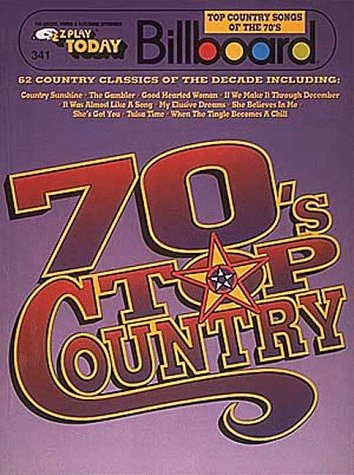 9780793513765: 341. Billboard Top Country Songs Of The 70's