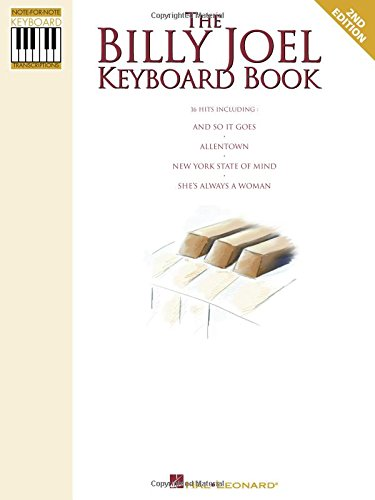 9780793514427: The Billy Joel Keyboard Book: Note-for-Note Keyboard Transcriptions