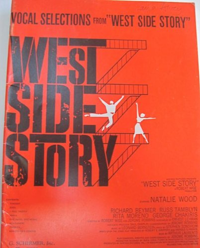 "Vocal Selections from ""West Side Story"" (0793515521) by Leonard Bernstein; Stephen Sondheim"