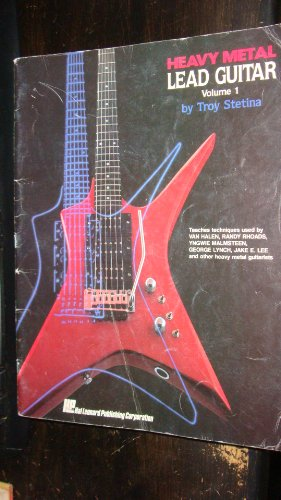 9780793515639: Heavy Metal Lead Guitar/Book and Audio Cassette (Vol. 1)
