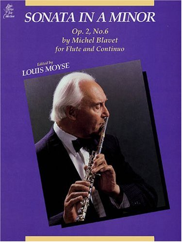 9780793515851: Sonata in a Minor, Op. 2, No. 6 (Louis Moyse Flute Collection)