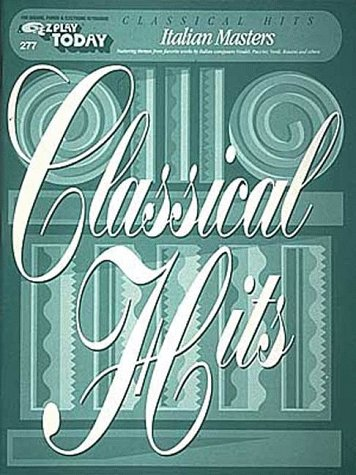 E-Z Play Today #277 - Classical Hits - Italian Masters