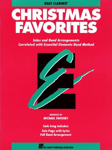 9780793517565: Essential Elements Christmas Favorites: B Flat Bass Clarinet