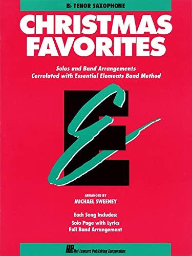 9780793517589: Essential Elements Christmas Favorites: Bb Tenor Saxophone