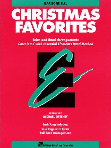 9780793517633: Essential Elements Christmas Favorites: Baritone B.c.