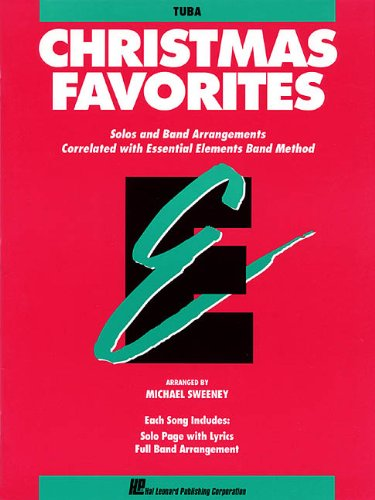 9780793517657: Christmas Favorites: Tuba, Solo Band Arrangements Correlated with Essential Elements Band Method