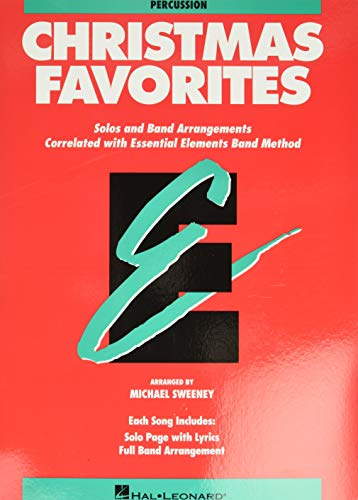 9780793517664: Essential Elements Christmas Favorites: Percussion