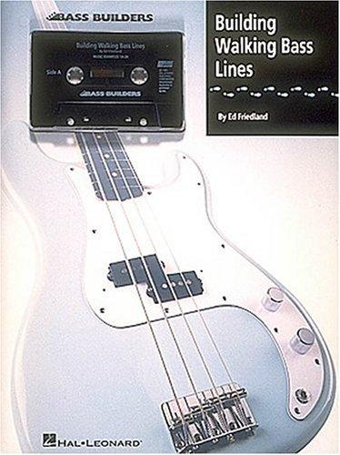 9780793517862: Building Walking Bass Lines (Bass Builders)