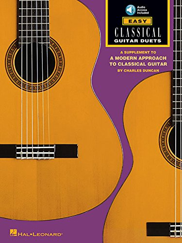 9780793517954: Easy Classical Guitar Duets: Book/Online Audio