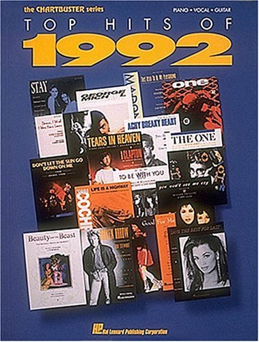 9780793517992: Top Hits Of 1992 (Chartbuster Series)