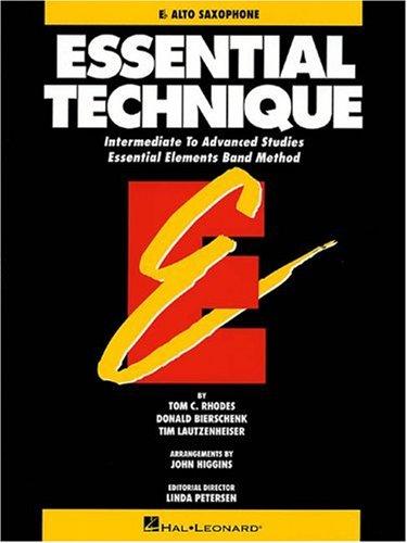 9780793518067: Essential Technique - Eb Alto Saxophone Intermediate to Advanced Studies (Book 3 Level)