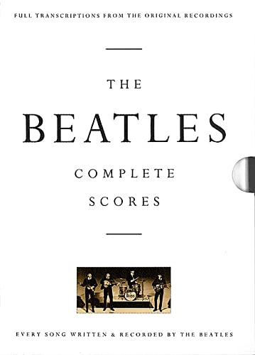 9780793518326: BEATLES COMPLETE SCORES BOX