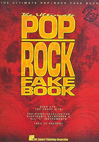 "9780793519682: The Ultimate Pop/Rock Fake Book: Over 400 Top Chart Hits : For Piano Vocal Guitar Electronic Keyboards & All ""C"" Instruments : 1955 to Present (Fake Books)"