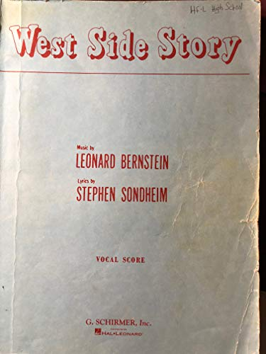 9780793520107: West Side Story