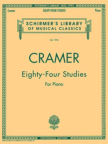 9780793520244: 84 Studies for Piano (Schirmer's Library of Musical Classics)