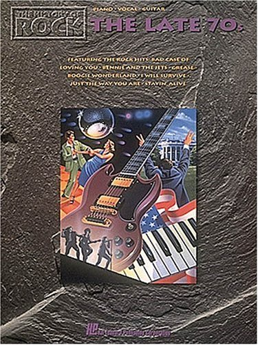 9780793520251: The History Of Rock - The Late 70's (Piano-Vocal-Guitar)