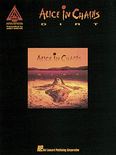9780793520282: Alice in Chains - Dirt (Guitar Recorded Versions)