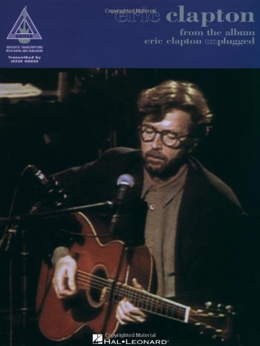 9780793520848: Eric Clapton from the album Eric Clapton Unplugged