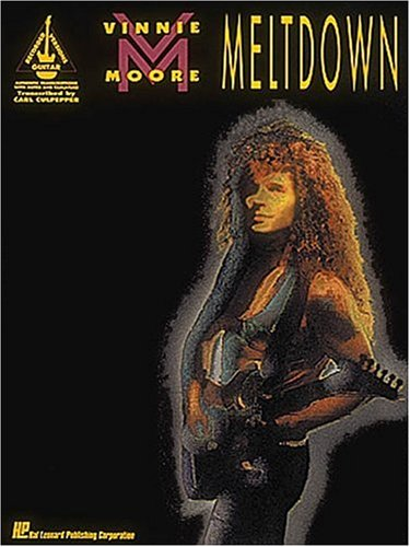 9780793521258: Vinnie Moore: Meltdown (Guitar Recorded Versions)
