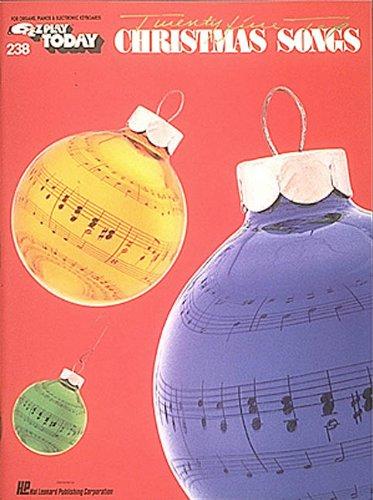 Twenty-Five Top Christmas Songs: Hal Leonard