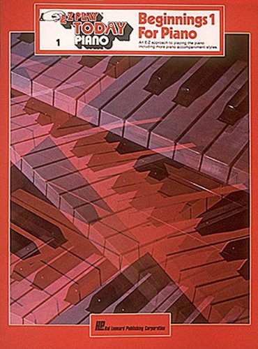 9780793521517: Beginnings 1 for Piano (E-Z Play Today)