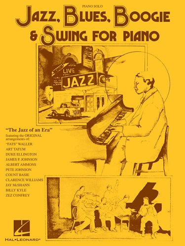 9780793522040: Jazz, Blues, Boogie & Swing for Piano