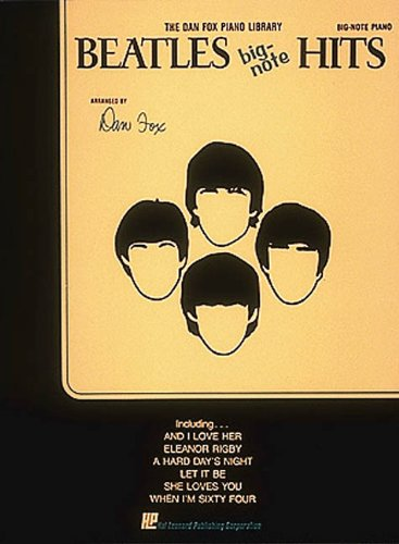 9780793522804: Beatles Big Note Hits