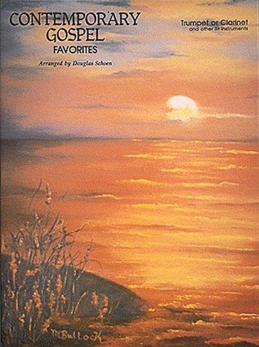 9780793522972: Contemporary Gospel Favorites: Trumpet or Clarinet (Instrumental Solo)