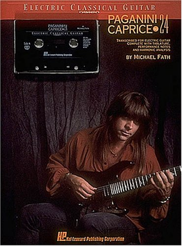 9780793523368: Paganini - Caprice No.24 - Book/cassette Pack