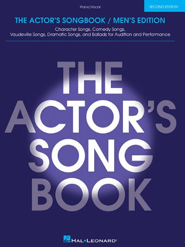 Piano Vocal The Actors Songbook 1993 Paperback Revised