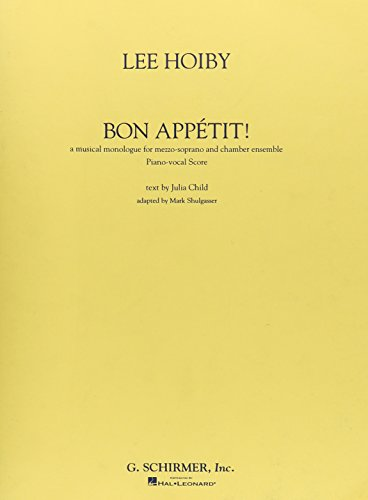 BON APPETIT VOCAL SCORE: Child, Julia
