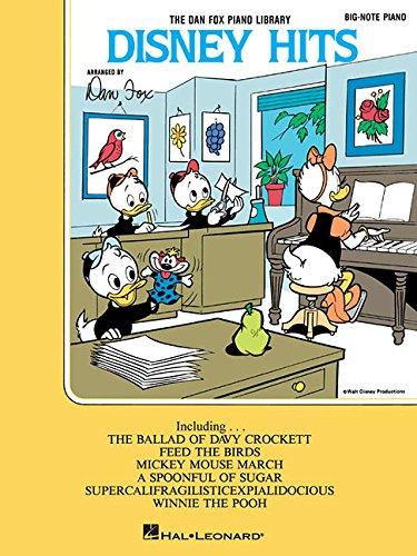 9780793523696: Disney Hits: Big-Note Piano (Dan Fox Piano
