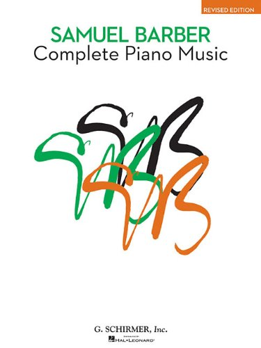9780793524624: Complete Piano Music (The American Composers Series)